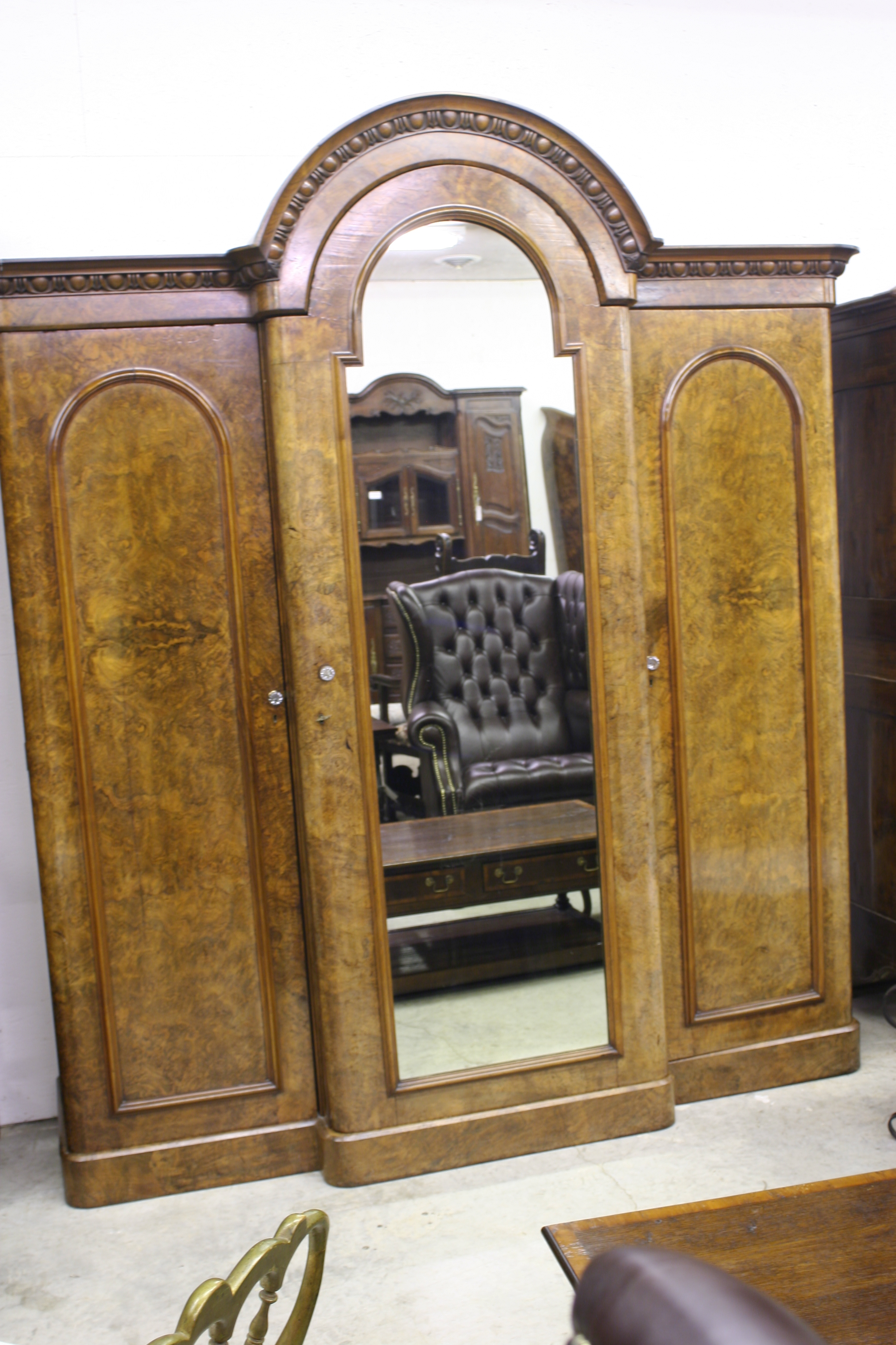 english gent s armoire. Black Bedroom Furniture Sets. Home Design Ideas