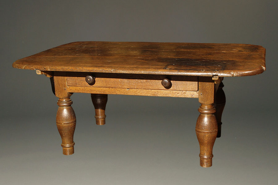 antique german coffee table