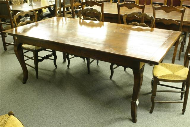 18th century style custom French farmhouse table