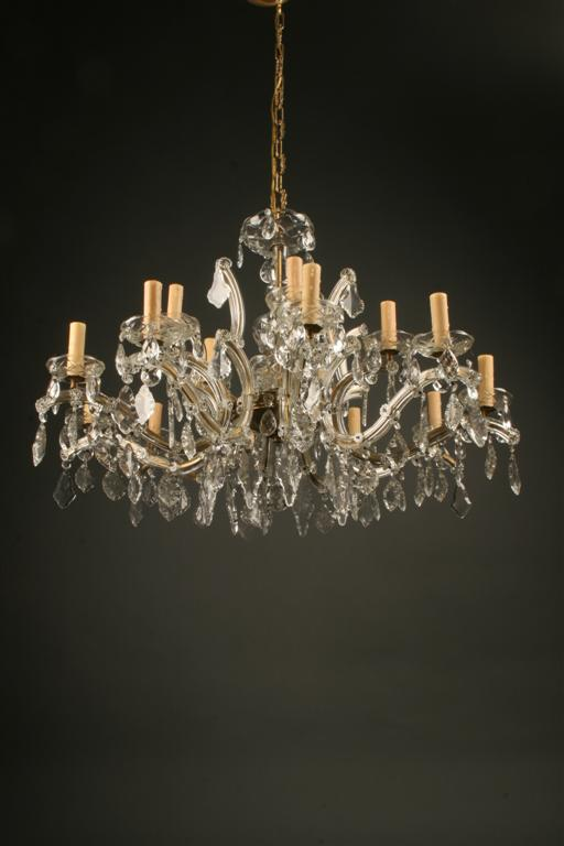 Antique italian crystal chandelier with 15 lights homelightingchandelierscrystal chandeliers aloadofball Choice Image