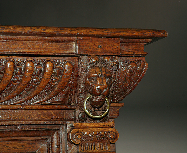Charmant Home/Furniture/Sideboards. 17th Century Flemish Antique Buffet Hand Carved  ...