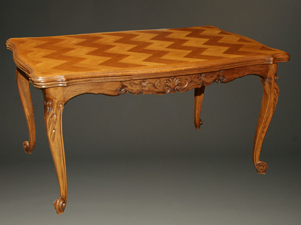 Home/Furniture/Dining Room Tables. Antique Louis XV Neo Rustique Style  Country French Drawleaf ...