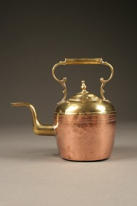 Antique Flemish Copper Teapot