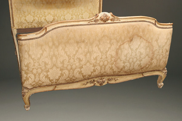Louis Xv Style Polychrome Bed