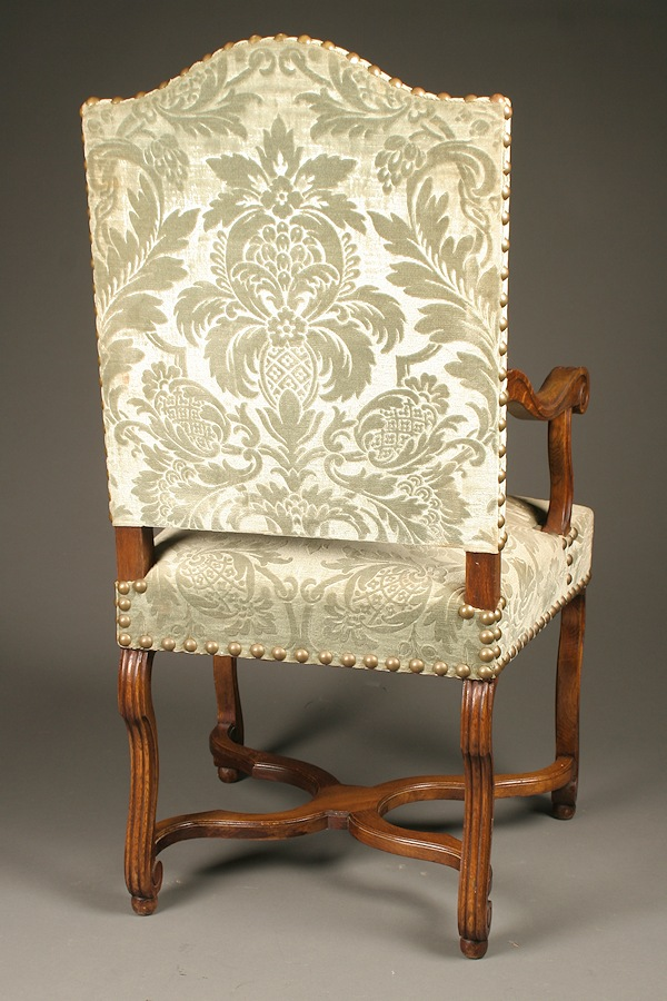 Home/Furniture/Chairs/All French Chair - Set Of Antique French Louis XIII Style Dining Chairs In Oak, Circa