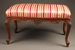 19th century French Louis XV style bench A5207A1
