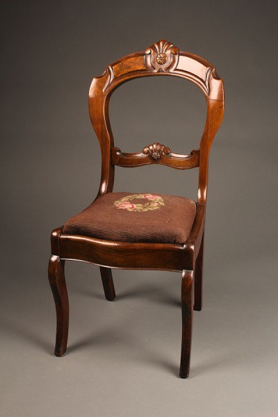 Antique Victorian side chair A5276A1