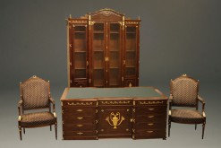 Late 19th Century French Empire Style Antique Office Furniture A5288A1
