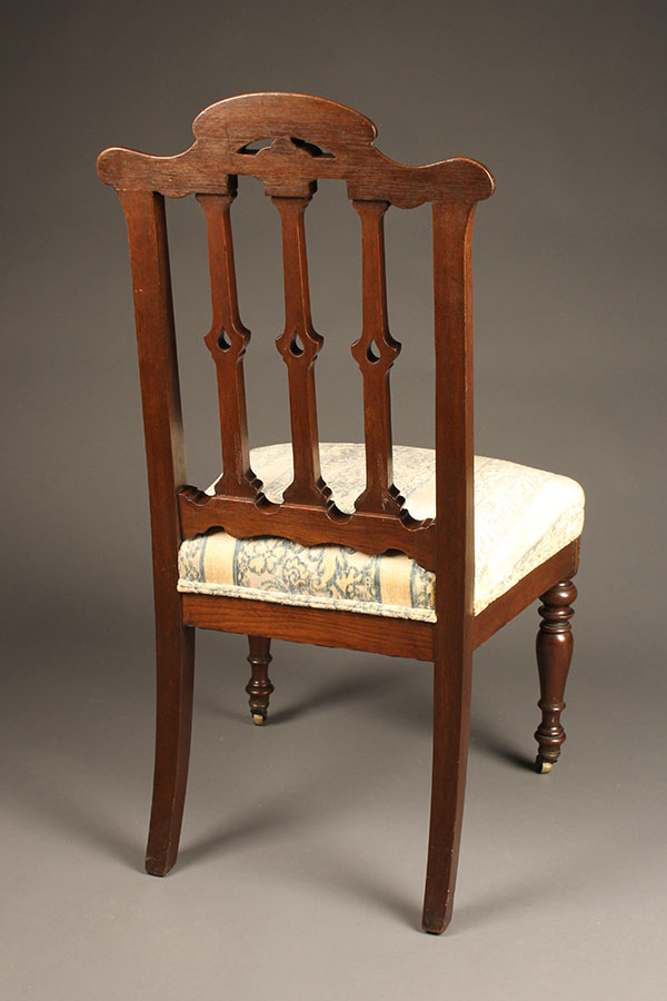 A5311C-French-chair-19th-century & Antique French side chair.