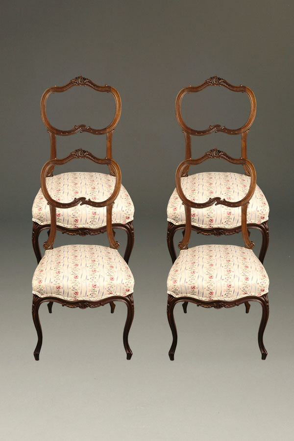 Charmant A5316A Antique Chair Chairs Louis XV French