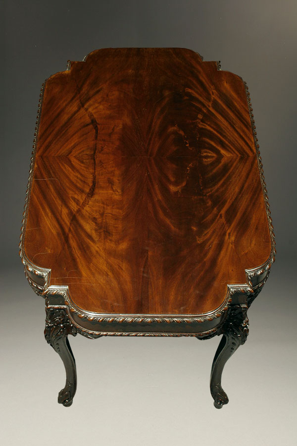 Antique Chippendale Style Tea Table