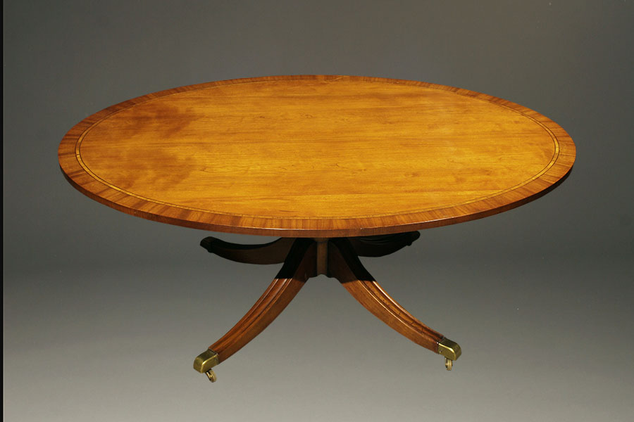 English oval shaped coffee table Oval shaped coffee table
