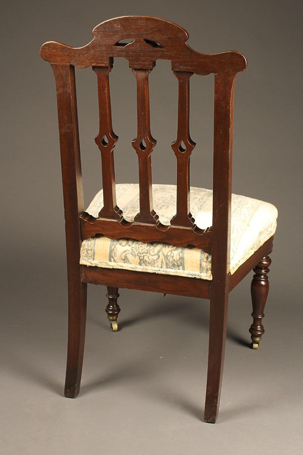 A5357D-antique-french-side-chair-pair - Pair Of Antique French Side Chairs.