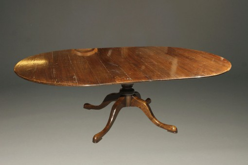 A5377A-english-round-leaves-dining-table-walnut1