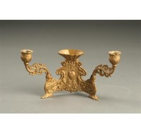 Double candlestick holder B1035