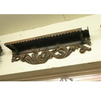 Black Forest carved shelf
