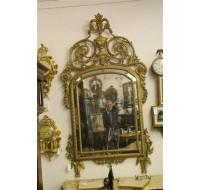Piemonte mirror gilded, circa 1780