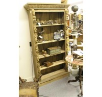 Hunt carved oak bookcase Belgian or French, circa 1860
