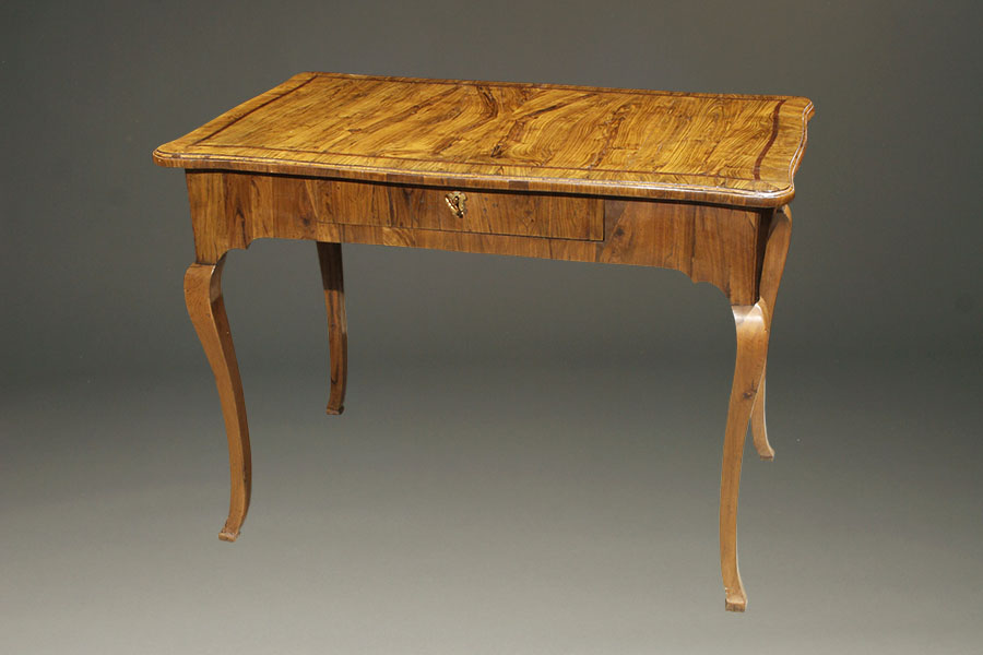 A5411A-antique-table-italian - Antique Italian Writing Table.