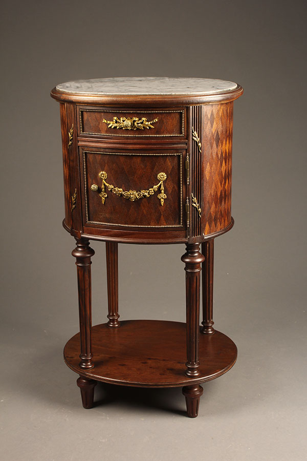 A5414a French Antique Louis Xvi Nightstand