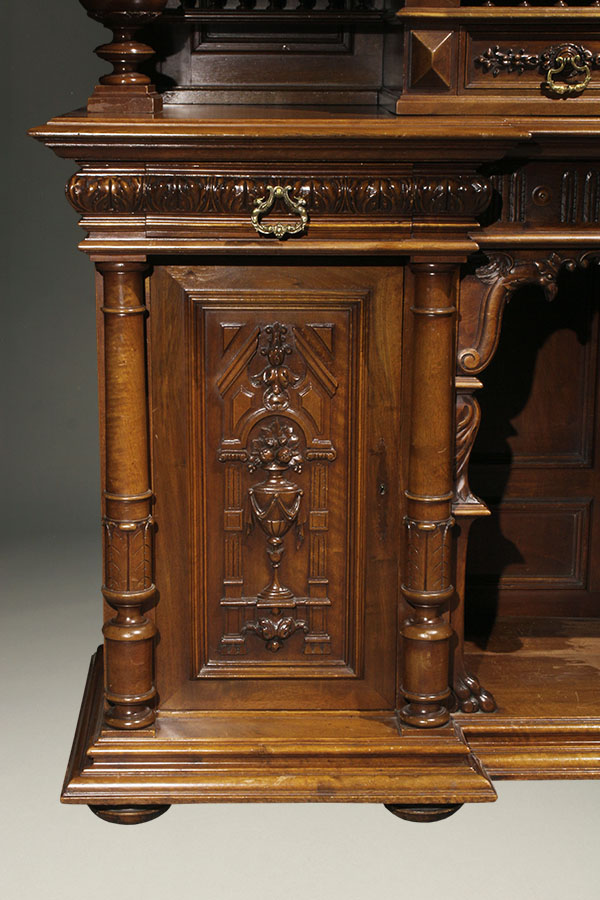 Antique French Henry Ii Buffet