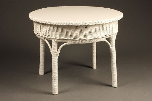 Round wicker table A5433A