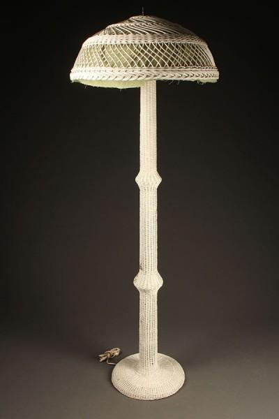 Wicker floor lamp A5437A