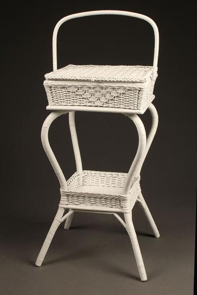 Wicker sewing basket A5438A