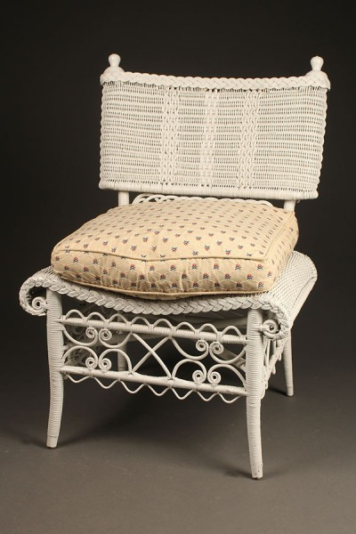 Wicker side chair A5444A