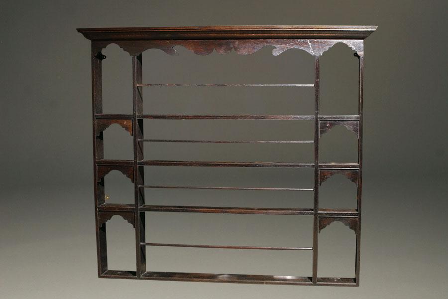 English oak plate rack A5462A & English oak plate rack