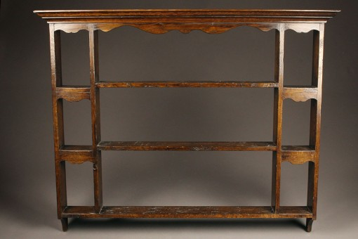 English oak plate rack A5463A