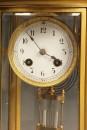Oval crystal regulator shelf clock A5471D