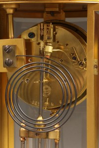 Oval crystal regulator shelf clock A5471E