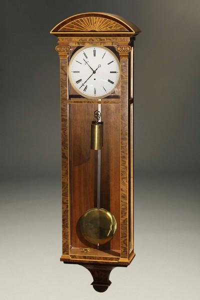Biedermeier Antique Wall Clock A5483A