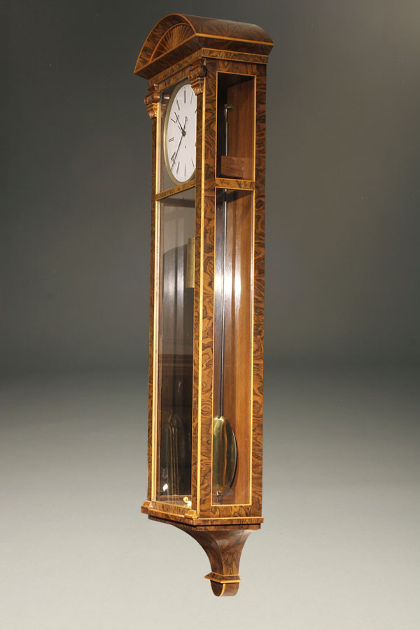 Biedermeier Antique Wall Clock