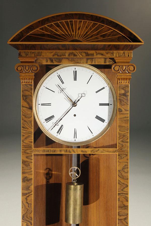 Biedermeier Antique Wall Clock