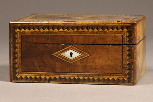 Inlaid jewelry box A5497A