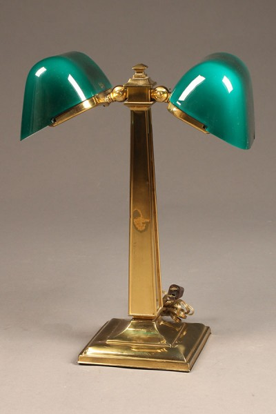 Double Emeralite desk lamp A5502A