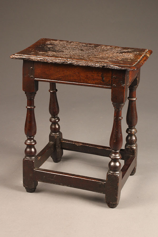 Small 17th Century Charles Ii Oak Table