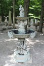 Bronze fountain with horses and cherubs A5511A