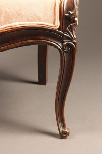Pair of rosewood chairs A5525G