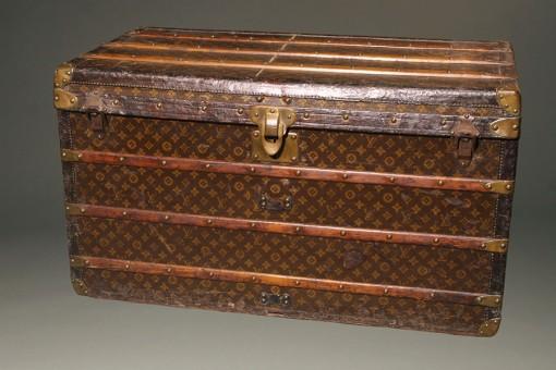 Antique Louis Vuitton Cabinet Trunk A5541A
