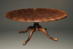 "72"" round pedestal table A5583A"