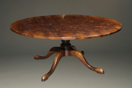 72″ round pedestal table A5583A