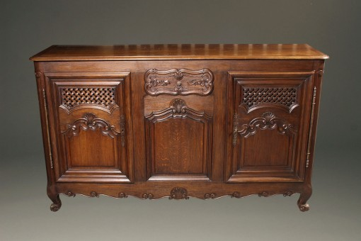 French country oak sideboard A5584A