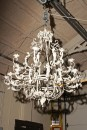 Painted wrought iron chandelier A5585AA