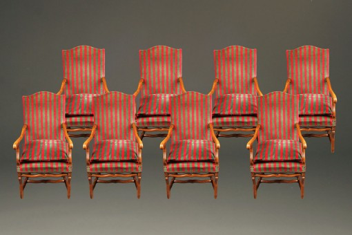 Set of 8 French chairs A5586A