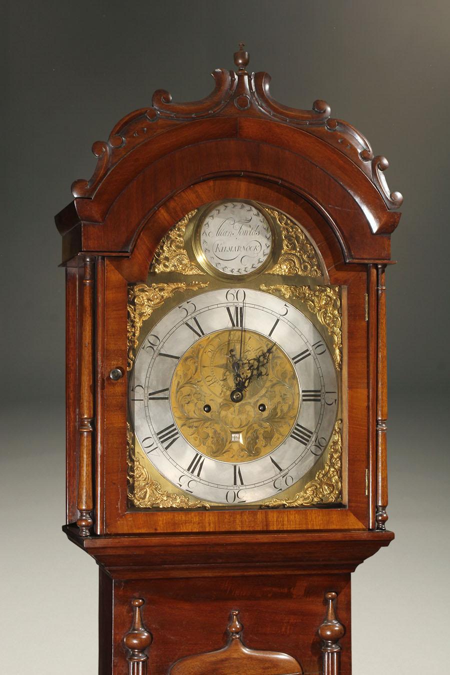 Antique Scottish Tall Case Clock
