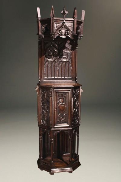 Gothic Style Antique Credenza A5601A