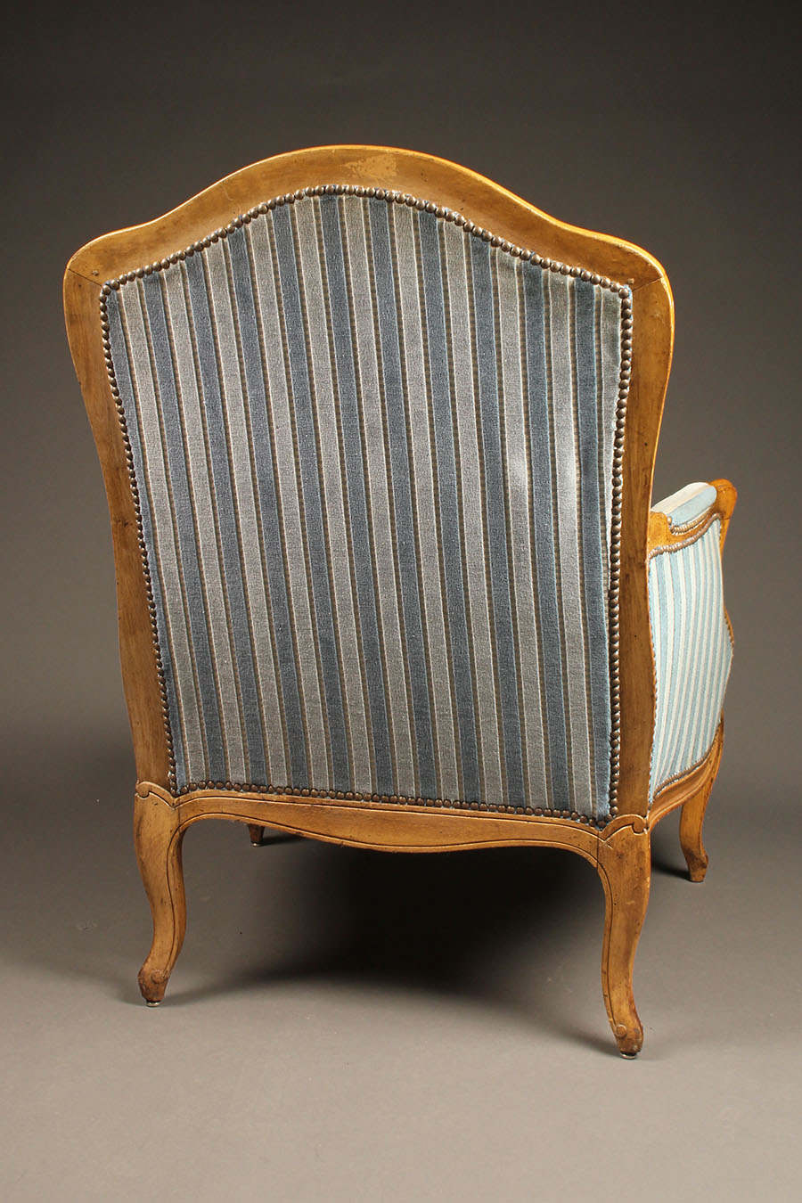 Exceptionnel A5604D Pair French Armchair Chair Louis Xv Upholstered